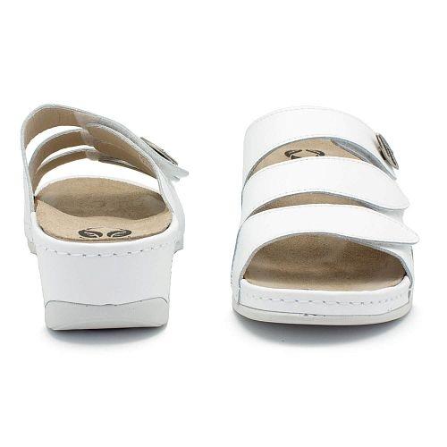 Papuci cu talpa ortopedica 701-18 Alb 1