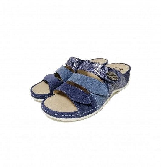 Papuci cu talpa ortopedica 701-18 Albastru 1