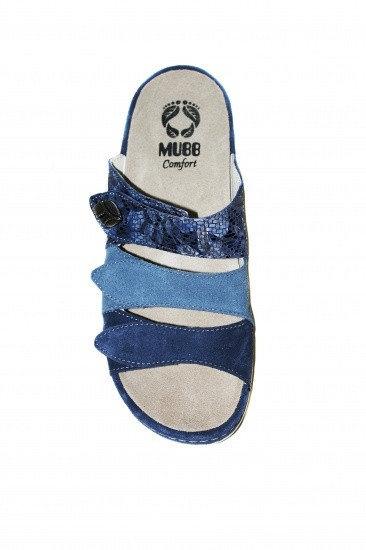 Papuci cu talpa ortopedica 701-18 Albastru 5