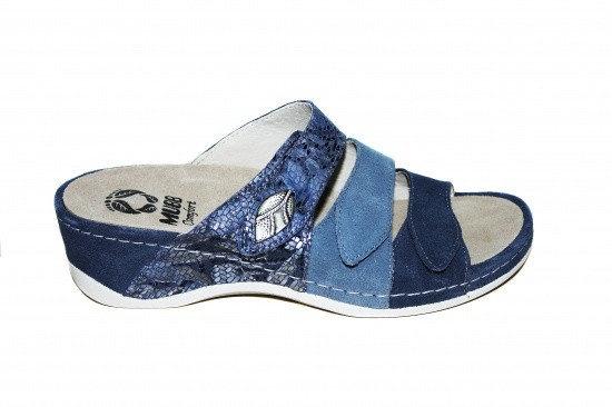Papuci cu talpa ortopedica 701-18 Albastru 0