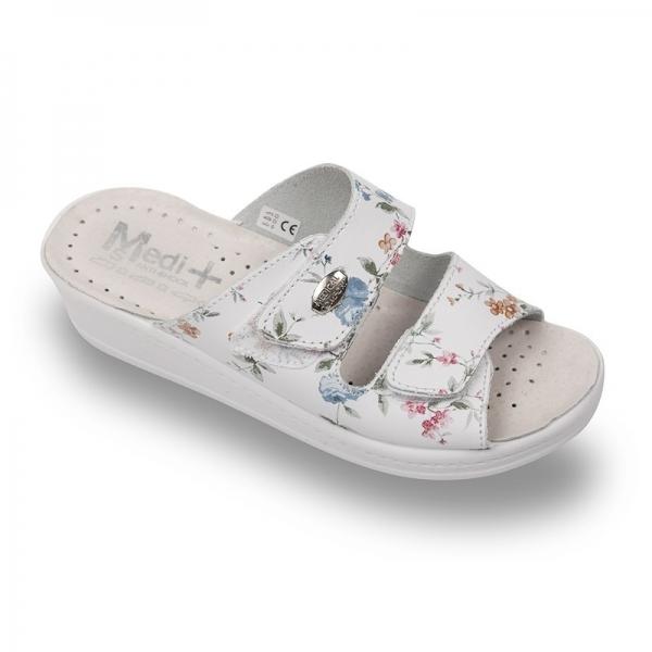 Papuci dama Medi+ 410SBF floral 0