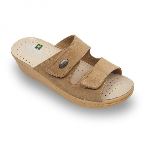 Papuci dama Medi+ 410SV Bej