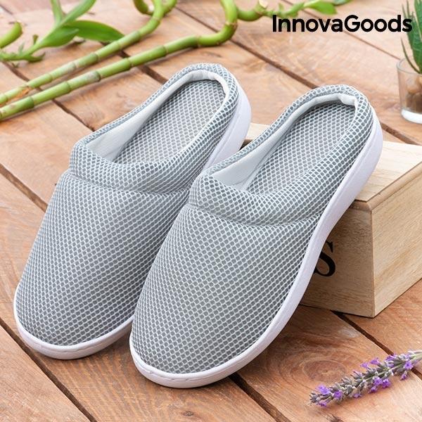 Papuci de Casă cu Gel Confort Bamboo 0
