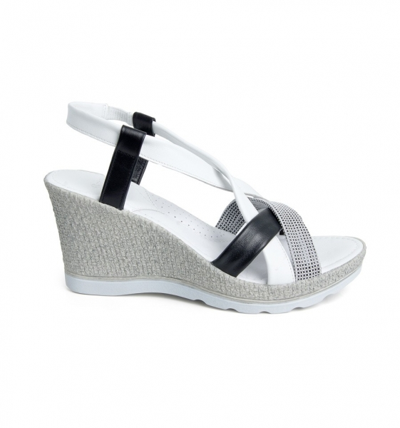 Sandale confortabile Batz Malibu EXS100 Alb 1