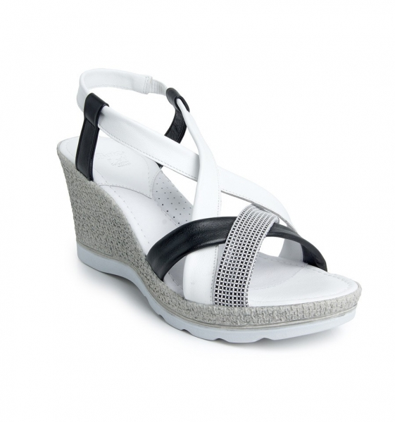 Sandale confortabile Batz Malibu EXS100 Alb 0