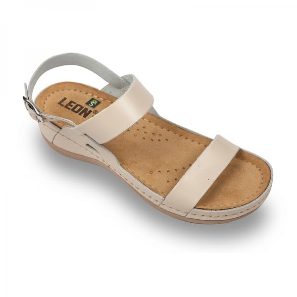 Sandale confortabile Leon 920 Bej