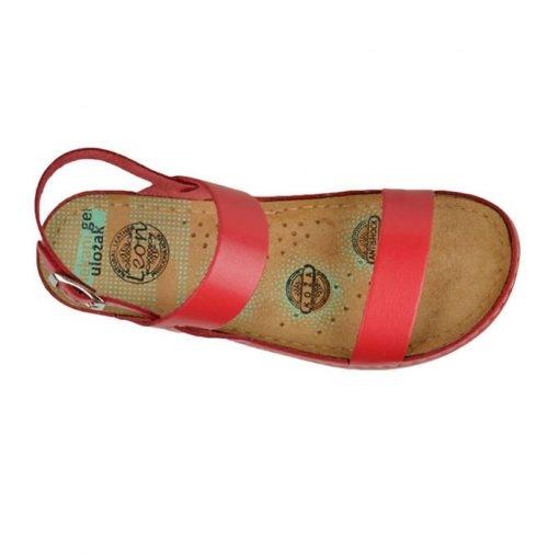 Sandale confortabile Leon 920 Rosu 4