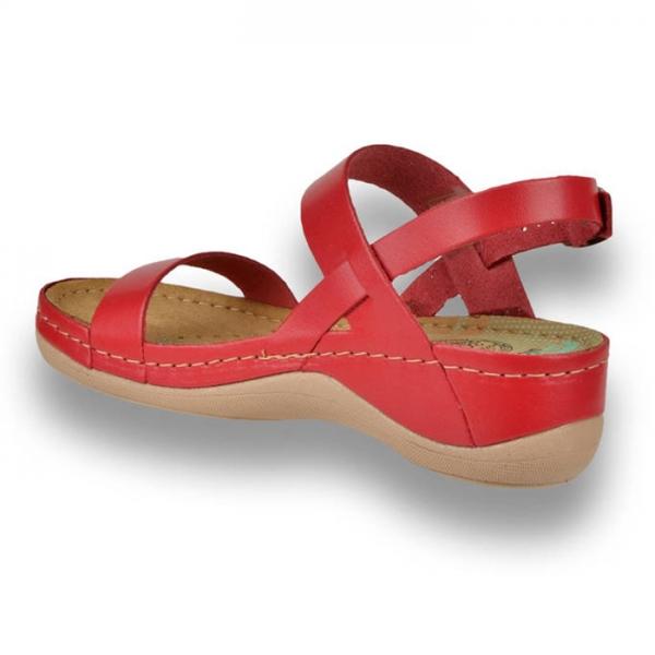 Sandale confortabile Leon 920 Rosu 2