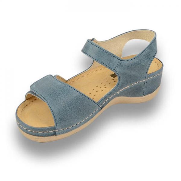 Sandale confortabile Leon 935 Albastru 3