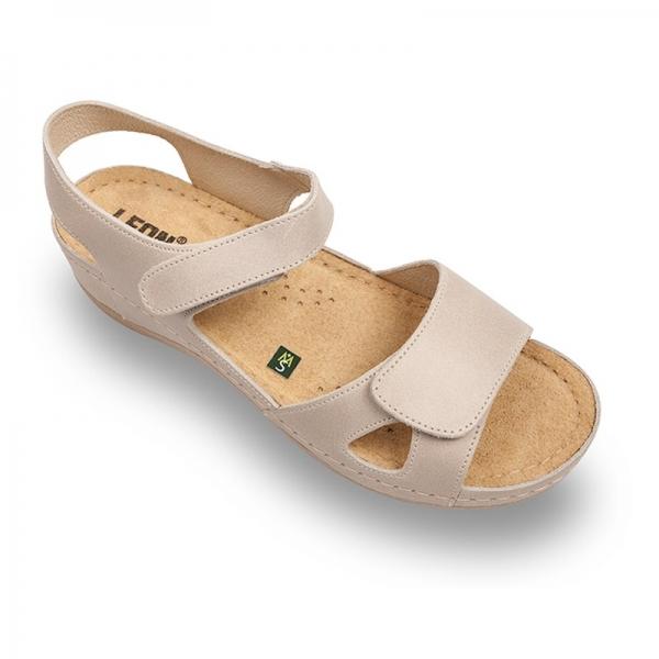 Sandale confortabile Leon 935 Bej