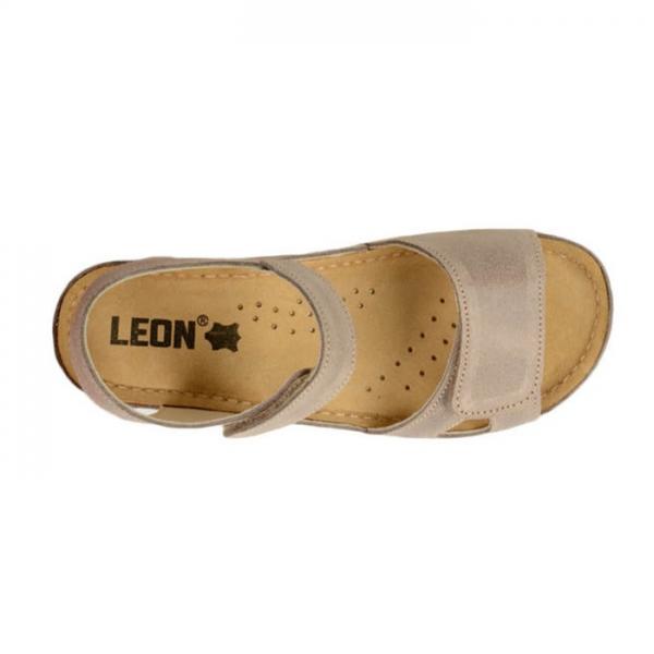 Sandale confortabile Leon 935 Gri-Maroniu 4