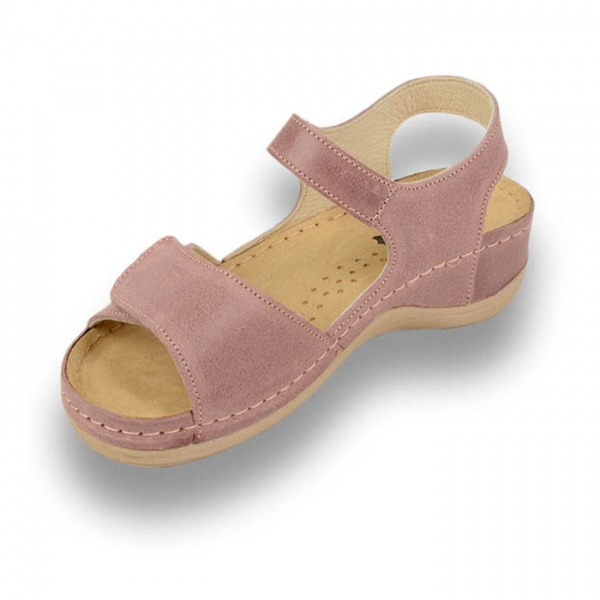 Sandale confortabile Leon 935 Rose