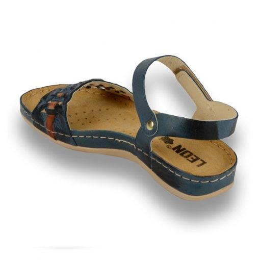 Sandale confortabile Leon 964 Albastru