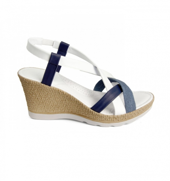 Sandale confortabile  Miami EX1N2 Jeans 1
