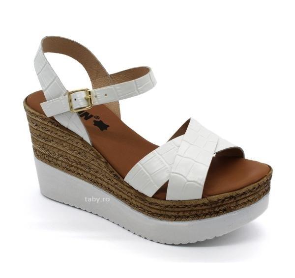 Sandale cu talpa ortopedica 1300 Alb 0
