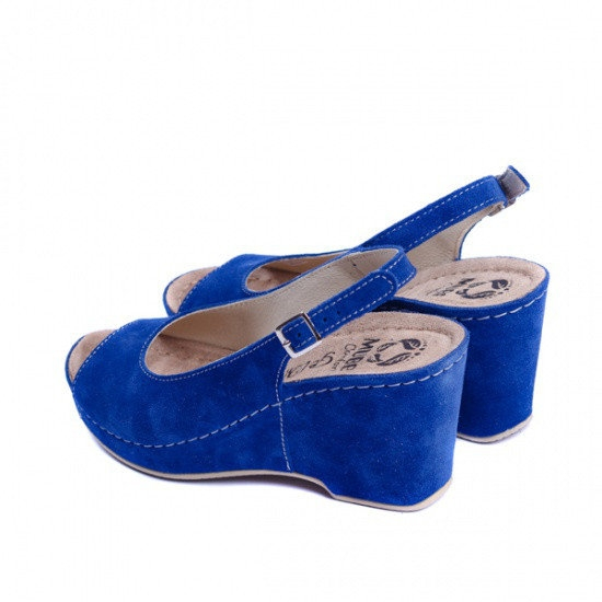 Sandale cu talpa ortopedica 505 Albastru 3