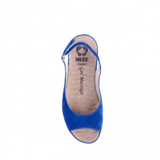 Sandale cu talpa ortopedica 505 Albastru 2
