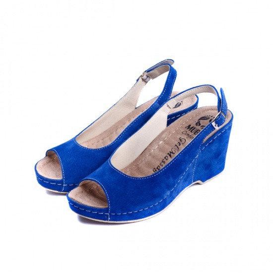 Sandale cu talpa ortopedica 505 Albastru 1