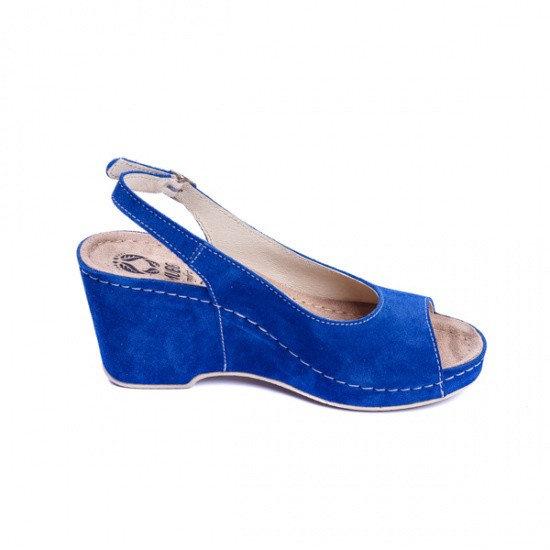 Sandale cu talpa ortopedica 505 Albastru 0