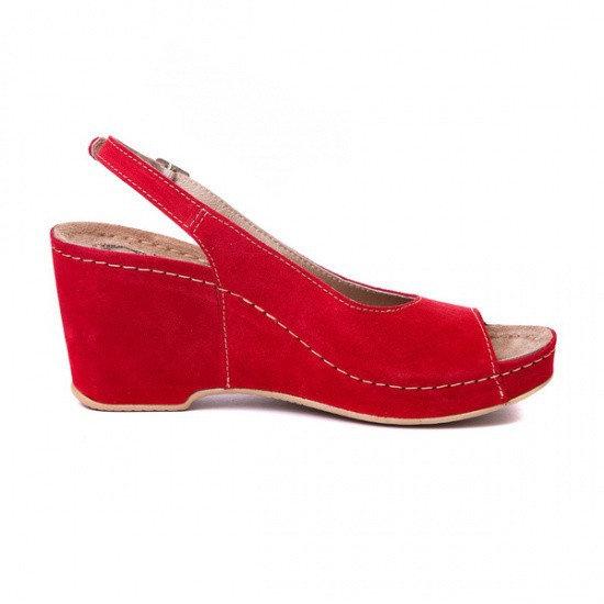 Sandale cu talpa ortopedica 505 Rosu 1