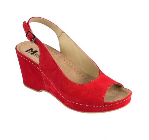 Sandale cu talpa ortopedica 505 Rosu 0