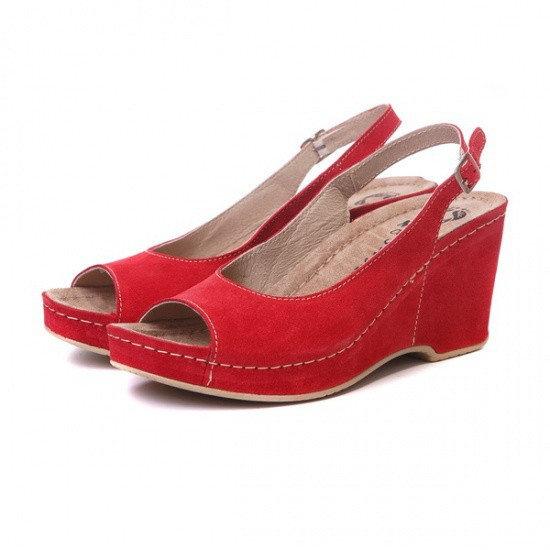 Sandale cu talpa ortopedica 505 Rosu 2