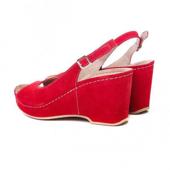 Sandale cu talpa ortopedica 505 Rosu 3