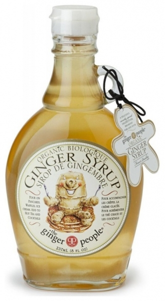 The ginger party - Sirop Bio de ghimbir, 240g